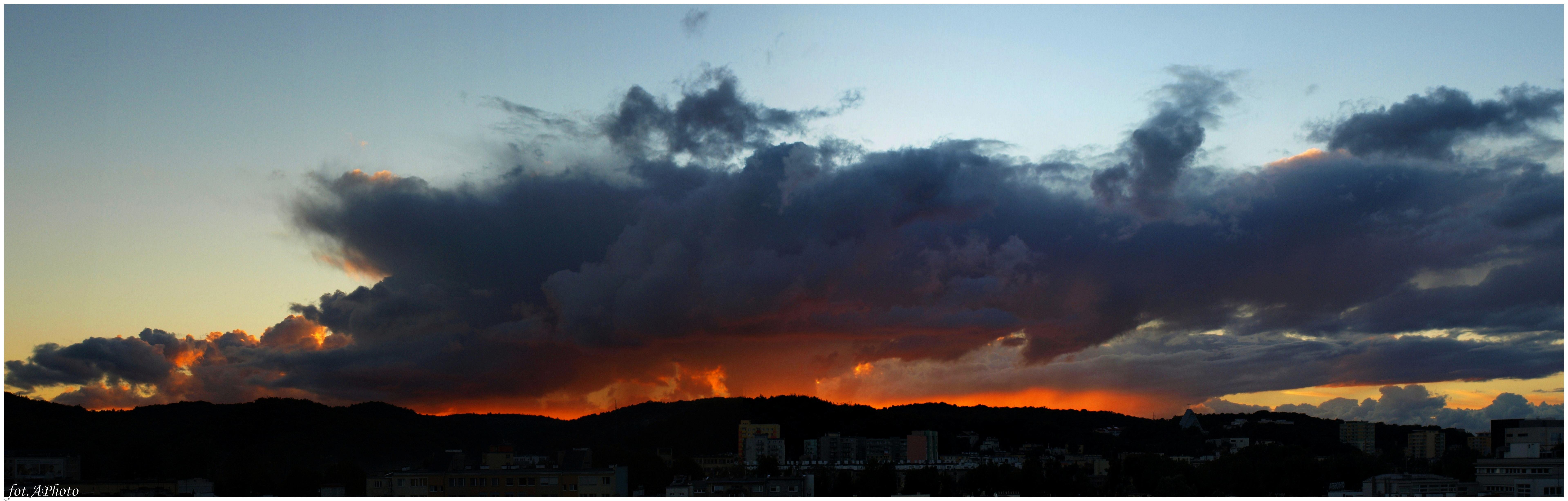 To tylko kolejny zachód słońca